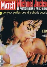 Couverture magazine,Coverage Paris-Match 03/04/97 Michael Jackson