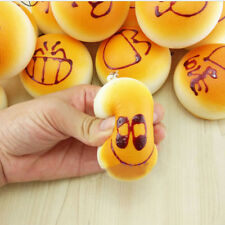 Squishy Super Lovely Soft Buns Bread Charm Squishies  Cell Phone Straps