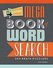 Go! Games Mega Book of Word Search: 65 Brain Puzzlers by John Samson...