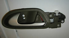 2008 HONDA CIVIC LX 4DR LEFT REAR DRIVER SIDE INTERIOR DOOR HANDLE BROWN