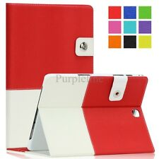 Leather Case Cover for Samsung Galaxy Tab A 8.0/9.7 Tablet Auto Sleep/Wake