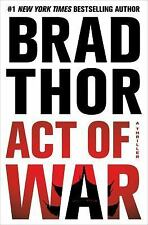 Act of War by Brad Thor (2014, Hardcover) 1st Edition