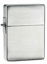 "Zippo ""1935 Replica"" Brushed Chrome Finish Lighter, ***Flints & Wick*** 1935.25"