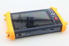 """IPC9600 7"""" Capacitive Touch Screen POE ONVIF IP&Analogy camera test CCTV Tester"""