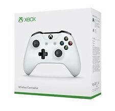 New Official Genuine Crete White Microsoft Xbox One Wireless Controller 3.5mm S