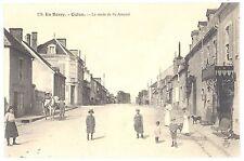 CPA 18 - CULAN (Cher) - 176. La Route de Saint-Amand. En Berry - TTBE