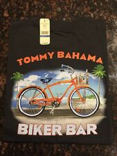 TOMMY BAHAMA RELAX TEE NEW BLACK-XXLARGE Biker Bar