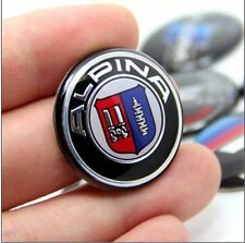NEW ALPLNA Start Stop Engine Button Logo  25MM Sticker Emblem Badge For BMW