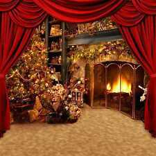 Christmas 10'x10' CP Backdrop Computer-painted Scenic Background HY-CM-3251