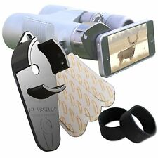 GLASSITUP Small Digiscoping Adapter, Align Any Smartphone to Most Any Eyepiece