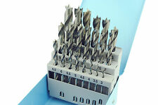 Proops 21 Pc Lip & Spur HSS Drill Bit Set Precision Drills 3mm - 13mm Wood W3430