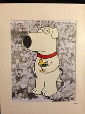 Family Guy - Brian - Hand Drawn & Hand Painted Cel