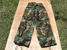 GENUINE USGI MILITARY COLD WEATHER BDU CAMO FIELD PANTS 1985 X-SMALL REGULAR NEW