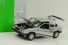 1983 Volkswagen VW Golf I 1 GTI Pirelli silber 1:18 Welly