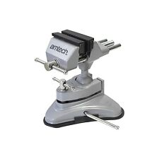 Mini Table Top Vice Clamp With Strong Suction Base Hobby Craft Electronics Model