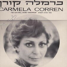 "12"" Carmela Corren The Sun Will Shine Tomorrow (Samaria) Hebräisch"