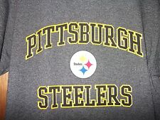 Pittsburgh Steelers T Shirt NFL Football Jersey Vtg AFC Jacket Top Adult Men S