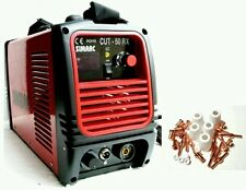 "SIMADRE POWER PLASMA CUTTER 50RX 110/220V 50 AMP W 30 CONS 1/2"" CLEAN CUT"