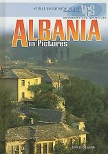 Albania in Pictures (Visual Geography (Twenty-First Century))-ExLibrary