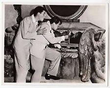 """Jerry Lewis / Dean Martin (Pressefoto '53) in """"Starr vor Angst"""""""