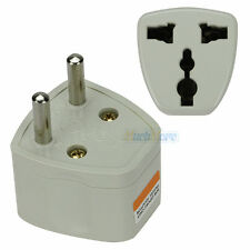 UK/US/AU Asia Universal to EU AC Power Plug Travel Adapter Power Plug Converter