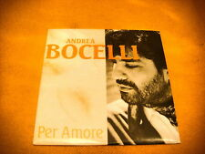 Cardsleeve Single CD ANDREA BOCELLI Per Amore 2TR 1994 classical vocal tenor