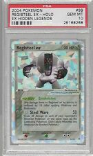 2004 EX Hidden Legends 99 Registeel EX Holo PSA 10 Pokemon (1 OF 6)
