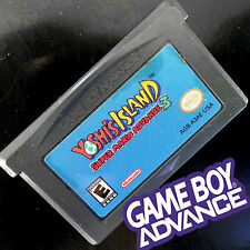 YOSHI'S ISLAND 2 II MARIO 3 World Bros for the Nintendo GAMEBOY ADVANCE ORIGINAL