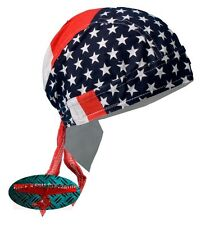 USA FLAG Bandana Kopftuch Headwrap Biker Chopper Cap Biker Harley Indian Stars
