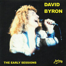 DAVID BYRON of URIAH HEEP THE EARLY SESSIONS Vol.1 - COLLECTORS EDITION - NEW CD