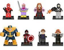 MARVEL THANOS Baron Zemo Figure Mini set di 8-si adatta a LEGO e altri blocchi
