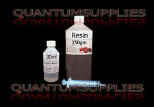 General Purpose Resin, Hardener & Syringe 250gm kit -FOR FIBREGLASS moulds / etc