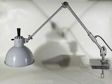 SIS Werkleuchte Schweinfurt ° Industriedesign Gelenk- Lampe ° Bauhaus Era