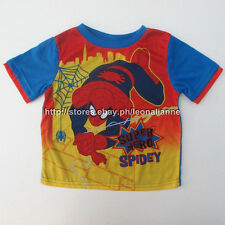 70% OFF! AUTH SPIDERMAN BOY'S GRAPHIC TEE 5T / 4-6YEARS BNEW $9.95