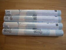 NEXT BLUE SPOT FLORAL PASTE  WALLPAPER ROLL  SHABBY CHIC Wall Paper