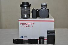 Sony NEX-5 14.2 MP Digital Camera ( Black ) w/18-55mm OSS Lens
