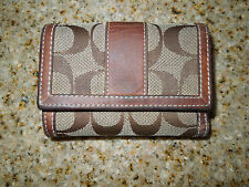 COACH TRIFOLD WALLET SMALL
