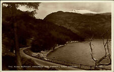 Loch Lomond Scotland Scottland Scotish ~1950/60 Road between Inverbeg and Tarbet