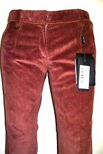 28 Waist Made in Italy DOLCE GABBANA VELOURS Corduroy Winter Pants $595 44E =28W