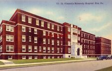 ST. VINCENT'S MATERNITY HOSPITAL, ERIE, PA 1945