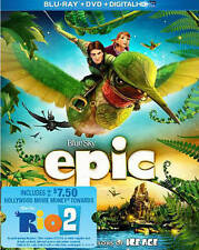 Epic (Blu-ray / DVD, 2013) Blue Sky Animation Fast shipping