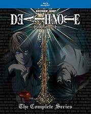 Death Note : The Complete Series (Blu-ray Disc, 2016, 5-Disc Set w/ Slip Cover)