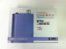 Brand New - KUPA MANIpro Passport Nail Filing System Purple - Control Box Only