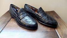 RARE! $2500 Salvatore Ferragamo Genuine Crocodile Alligator Loafers Shoes Polo