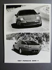 1987 Porsche 928 S4 Coupe B&W Press Photo PCNA Issued RARE!! Awesome L@@K