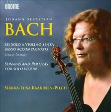Bach: Sonatas and Partitas for solo violin, New Music
