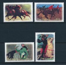 [31650] Gambia 2000 Animals Paintings with horses MNH