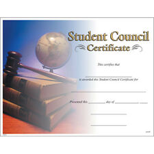 Student Council Certificate, Pack of 15