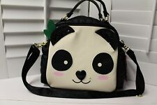 Betsey Johnson Panda Lunch Tote Insulated Baby Diaper Crossbody Bag Kitch NWT