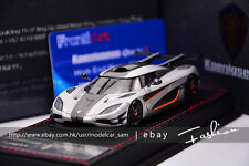 FRONTIART 1:43 KOENIGSEGG ONE:1 silver  LIMITED 150PCS  MODEL